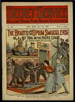 The Bradys and the Opium Smugglers; Or, A Hot Trail on the Pacific Coast