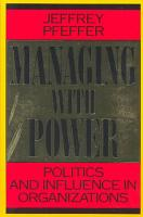 Managing with Power PDF