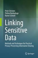 Linking Sensitive Data PDF