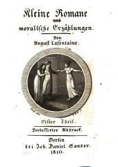 Kleine Romane und moralische Erzählungen: Band 11