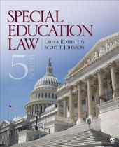 Special Education Law: Edition 5