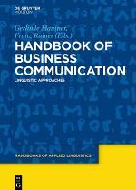Handbook of Business Communication