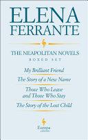 The Neapolitan Novels Boxed Set
