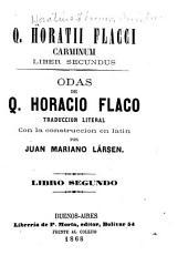 Odas: traduccion literal con la construccion en latin