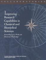 Collaboratories  Improving Research Capabilities in Chemical and Biomedical Sciences PDF