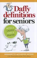 Daffy Definitions for Seniors PDF