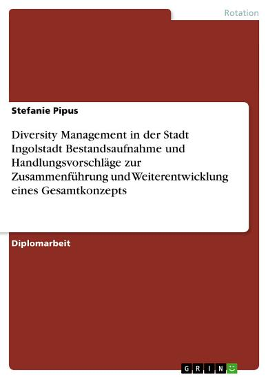 Diversity Management in der Stadt Ingolstadt PDF