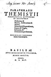Paraphrasis in Aristotelis posteriora