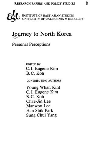 Journey to North Korea PDF
