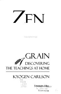 Zen in the American Grain