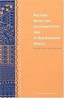Factors Affecting Contraceptive Use in Sub Saharan Africa PDF