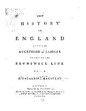 The History of England, from the Accession of James I. to that of the Brunswick Line: Volume 2
