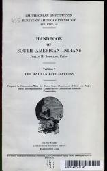 HANDBOOK OF SOUTH AMERICAN INDIANS VOLUME 2  PDF