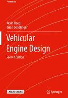 Vehicular Engine Design PDF