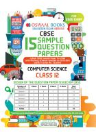 Oswaal CBSE Sample Question Papers Class 12 Computer Science Book  For March 2020 Exam  PDF