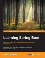 Learning Spring Boot PDF