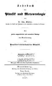 Lehrbuch der Physik und Meteorologie ...