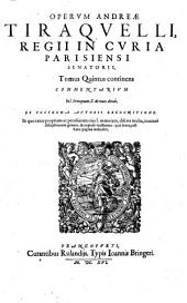 Opera omnia0: septem tomis distincta, Volume 5
