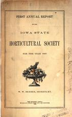 Report of the Iowa State Horticultural Society  for the Year     PDF