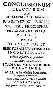 Controversiae ex universa philosophia selectae