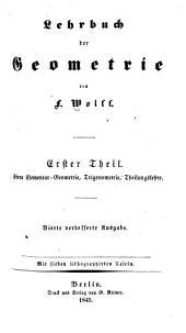 Lehrbuch der geometrie: Bände 1-3