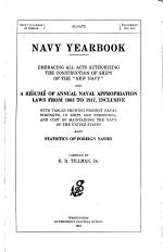 Compilation of Annual [naval] Appropriation Laws from 1883 to 1904, Including Provisions for the Construction of All Vessels of the