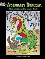 Legendary Dragons Stained Glass Coloring Book