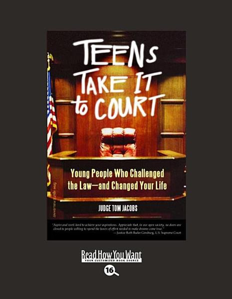 Download Teens Take It to Court Book
