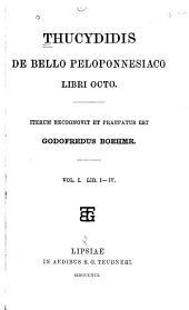 Thucydides: De bello peloponnesiaco, libri octo, Volumes 1-2