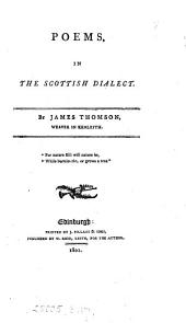 Poems, in the Scottish dialect