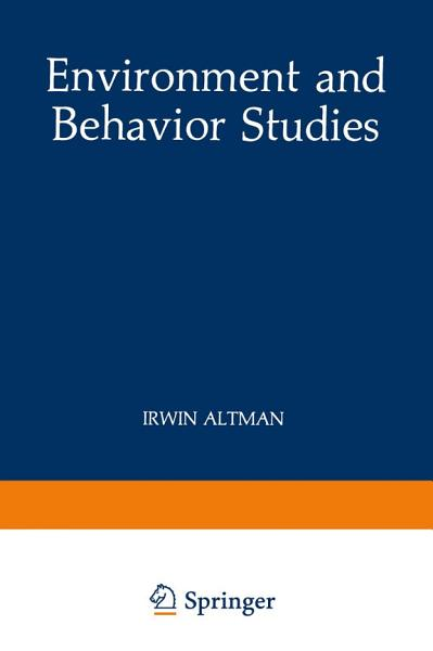 Environment and Behavior Studies