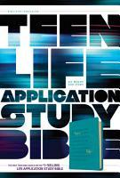 Teen Life Application Study Bible NLT PDF