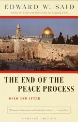 The End Of The Peace Process Book PDF