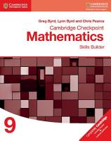 Cambridge Checkpoint Mathematics Skills Builder Workbook 9 PDF