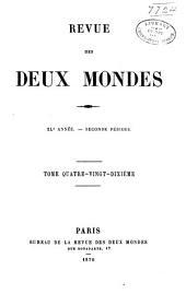 Revue des deux mondes: Volume6;Volume90;Volume197