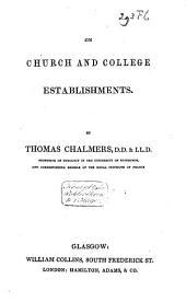 On Church and College Establishments