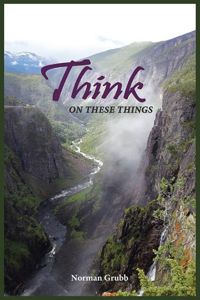 Download Think on These Things Book