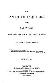 The Anxious Inquirer After Salvation, Directed and Encouraged