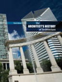 Download The Architect s History of Architecture Book