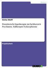 Praxisbericht Ergotherapie im Fachbereich Psychiatrie. Fallbeispiel Schizophrenie