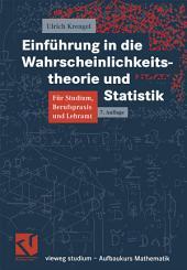 Einführung in die Wahrscheinlichkeitstheorie und Statistik: Ausgabe 7