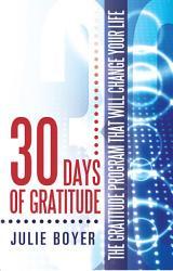 30 Days Of Gratitude Book PDF
