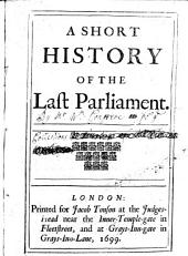 A Short History of the Last Parliament