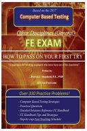 Fe Exam (Other Disciplines)