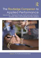 The Routledge Companion to Applied Performance PDF