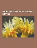Micronations in the United States