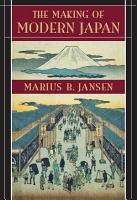 The Making of Modern Japan PDF