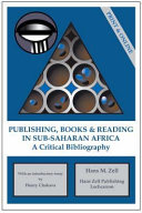 Publishing  Books   Reading in Sub Saharan Africa PDF