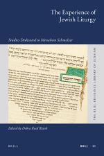 The Experience of Jewish Liturgy