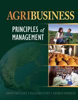 Agribusiness  Principles of Management PDF